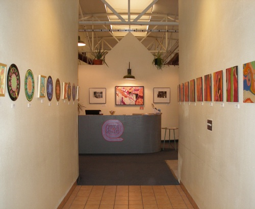 Front entryway into the gallery